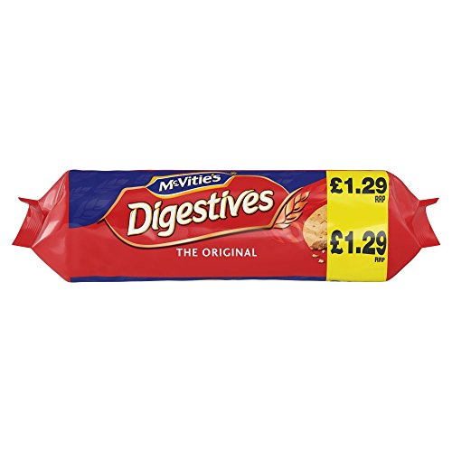 Mcvities Digestive Wheatmeal Biscuits 400g x 12