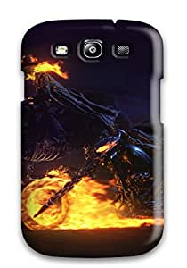 New Style DXcentral Hard Case Cover For Galaxy S3- Ghost Rider Carter Slade