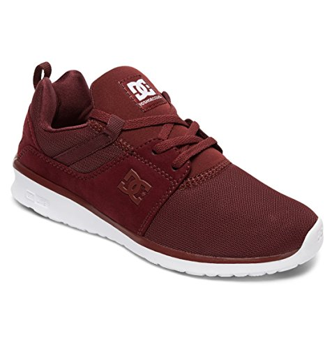 para Mujer Shoes DC Zapatillas BURGUNDY Heathrow xPp8Wvvawq