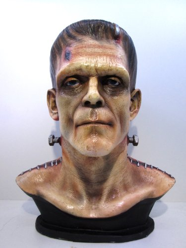 1/1 Frankenstein Horror Side Show Classic Movie Bust Painted by CustomMade