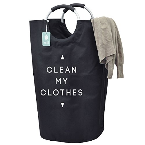 thicken-oxford-clothes-storage-laundry-bag-handy-laundry-bins-for-college-students-black