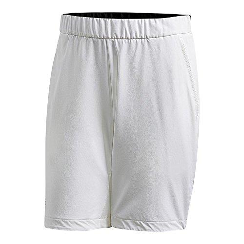 adidas Men's Barricade Bermuda Shorts White Medium 10