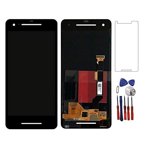 (Glass LCD Display Touch Screen Digitizer Assembly Replacement Part Compatible for Google Pixel 2 5.0