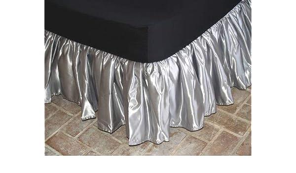800 TC Pima Cotton Light Blue Stripe 1 Qty Valance//Bed Skirt All Size US