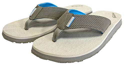 - Grundéns Men's Deck Hand Sandal, Glacier Grey - 11 M US
