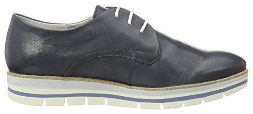 Marco Tozzi Premio 23209, Zapatos de Cordones Oxford para Mujer Azul (Navy 805)
