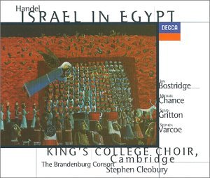 Handel - Israel in Egypt / Bostridge, Chance, Gritton, Varcoe, King's College Choir, The Brandenburg Consort, - Crabtree In Stores