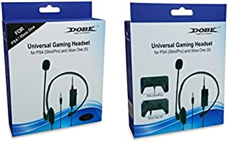Dobe PS4 - Auriculares con micrófono y control de volumen para Playstation 4 PS4: Amazon.es: Electrónica
