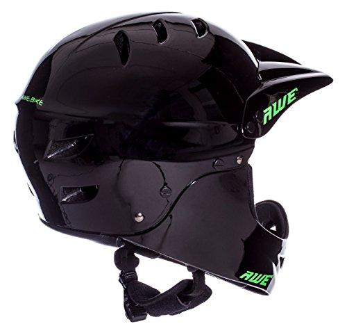 AWE FREE 5 YEAR CRASH REPLACEMENT Full Face Helmet Black Large by AWE (Image #2)