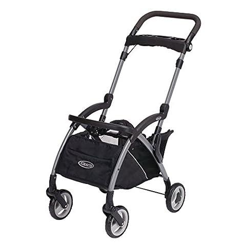 Graco Snugrider Elite Stroller and Car Seat Carrier, Black - Graco Snugrider Infant Car Seat Stroller Frame
