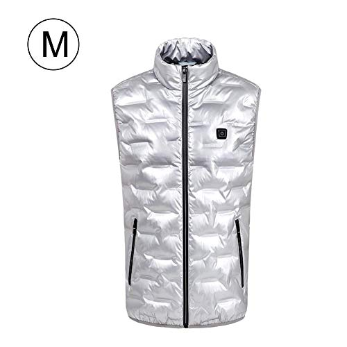 Women Heated Vest Rechargeable USB Charging Electric Jacket Heating Clothing Adjustable Winter Warm Vest Washable & Safety for Back Pain Outdoor Hunting Camping Hiking (No Battery)