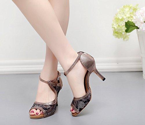Minitoo ,  Damen Standard & Latein Grey-7.5cm Heel