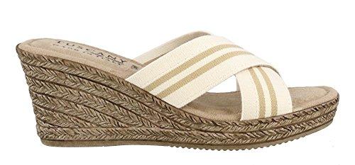 Sandalo Da Donna Easy Street Malone Naturale