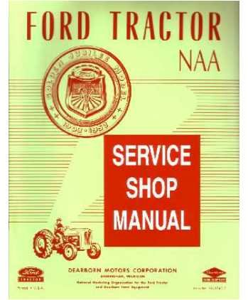41DA4XTYJNL amazon com 1953 1954 1955 ford tractor model naa service manual wiring diagram 1954 ford naa tractor at bakdesigns.co