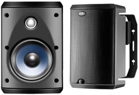 Polk Audio Atrium 45 All-Weather Speakers Pair, Black