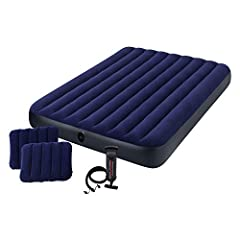 Location, temperature, and humidity will affect the airbed's firmness. Airbeds will need to be occasionally re-inflated (topped off) to maintain desired firmness when used for more than a few days as vinyl tends to relax over time. Measuremen...