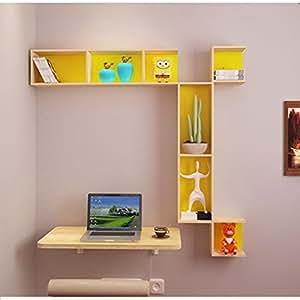 Wall-Mounted Folding Table/Corner Wall-Mounted Computer Desk/Wall-Mounted Table/Space-Saving