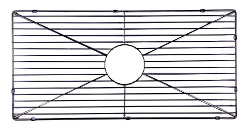 kitchen sink grid for AB3318SB, Stainless Steel (Fireclay Sink Drainer)