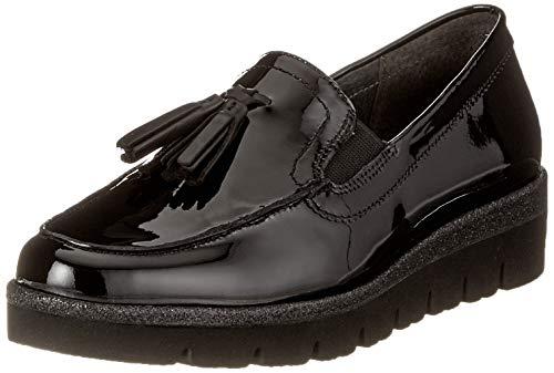 97 Shoes Gabor Femme Sport Glitzer Schwarz Noir Derbys Comfort 686RUAq7