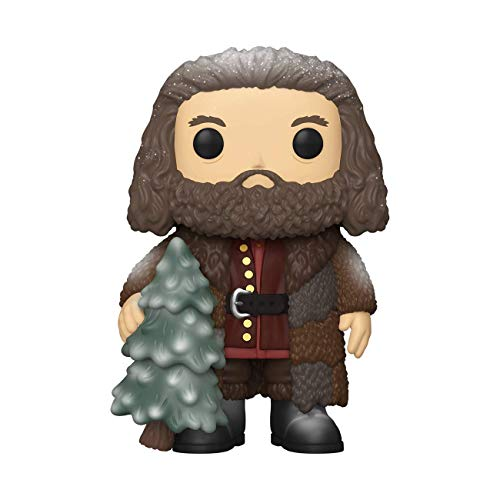 Funko- Pop Harry Potter Holiday-Rubeus Hagrid S11 Figura Coleccionable, Multicolor (51156)