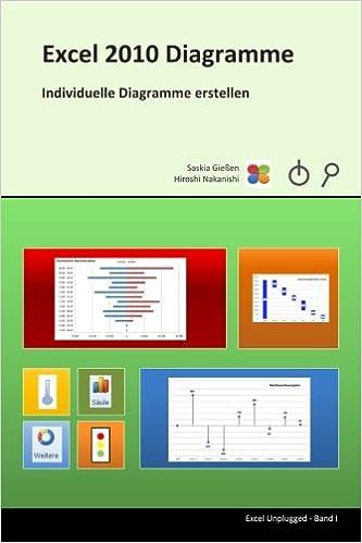 Excel 2010 Diagramme Individuelle Diagramme Erstellen Amazonde