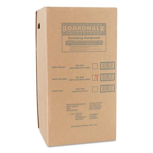 (BWK4065 - Wax Base Sweeping Compound, Granular, 50 Lb Box )