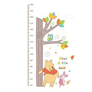 Pooh And Friends Peel & Stick Growth Chart