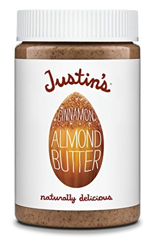 Cinnamon Almond Butter by Justin's, No Stir, Gluten-free, Non-GMO, Responsibly Sourced, 16oz Jar