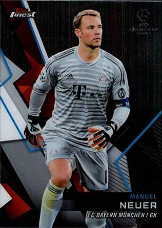 7b93b009f 2018-19 Finest UEFA Champions League  7 Manuel Neuer FC Bayern Munchen  Soccer Trading