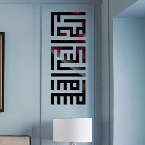 - Wall Sticker - Fheaven (TM) DIY 3D Modern Mirror Flowers Vinyl Removable Wall Sticker Decal Home Decor Art (Black)