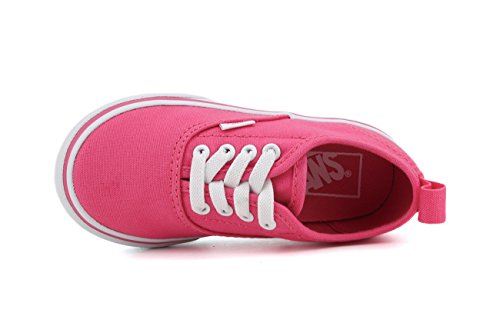 Vans Niños Hot Rosa Authentic Zapatillas Hot Pink/true White