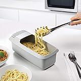 ZSQSM Marukio Microwave Pasta Cooker with Strainer