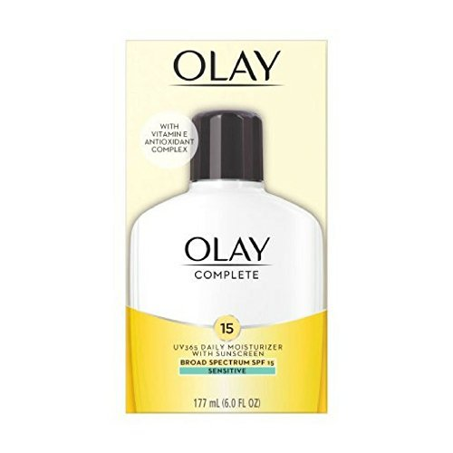 Olay Complete Lotion Moisturizer with SPF 15 Sensitive, 6.0 oz
