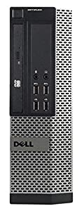 Dell OptiPlex 990 Small Form Business High Performance Desktop - PC CI5 2400 3.1G,16G DDR3,2TB,DVD,Windows 10 Pro - Black/Silver - 16VFDEDT1156