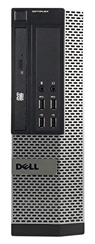 Dell 990 Small Form Business High Performance Desktop PC CI5 2400 3.1G,16G DDR3,2TB,DVD,Windows 10 Pro (Certified Refurbished)