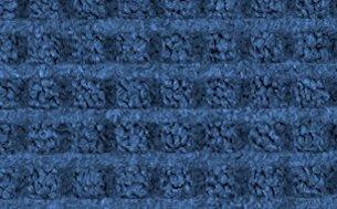 Guardian WaterGuard Indoor/Outdoor Wiper Scraper Floor Mat, Rubber/Nylon, 4'x8', Blue