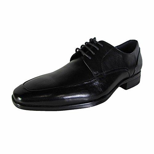 Steve Madden Mens P-sury Oxford Dress Schoenen Zwart Leer
