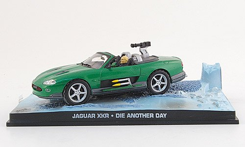 Jaguar XKR, green, James Bond 007 , 2002, Model Car, Ready-made, SpecialC.-007 1:43 Jaguar Xkr James Bond