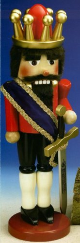 Steinbach King Arthur Extra Large Nutcracker SIGNED (Kings Steinbach Signed)