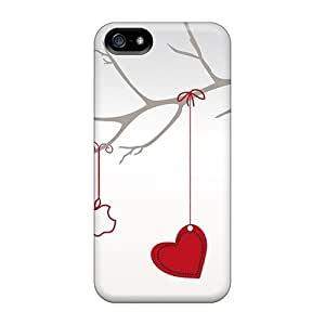 Flexible Tpu Back Case Cover For Iphone 5/5s - Valentine Valentine?¡¥s Day WANGJING JINDA