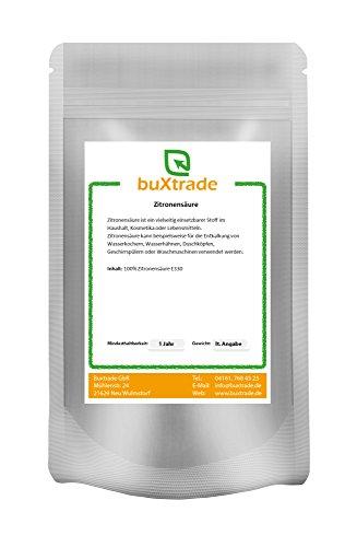 1 kg Zitronensäure Lebensmittelqualität E330, Bio, Entkalker