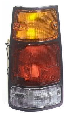 (1988 - 1995 Isuzu Pickup Driver Taillight Taillamp (with Black Trim) NEW 89-94 Amigo 91-97 Rodeo 94-97 Passport 8-97121-073-0 IZ2800103)