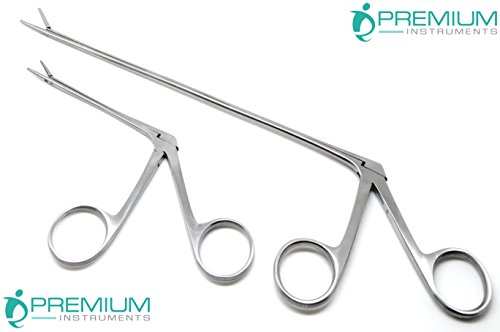 2 Pcs Hartman Micro Alligators Forceps 3.3