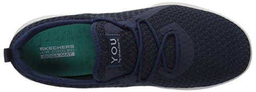 Sin tranquility Zapatillas Para Cordones Navy Serene gray Skechers Mujer tqSwP5