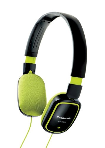 Panasonic HX-200 Headphones Black - Panasonic 200 Headphone