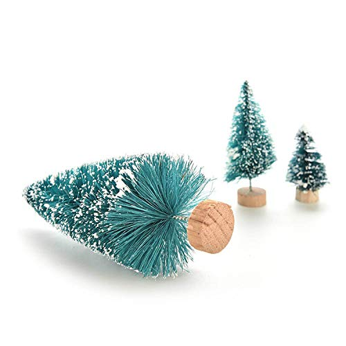 DIY Mini Christmas Tree Small Pine Tree Placed in TheChristmas Party Decoration Kids Gifts,E3 ()