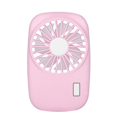 Hulorry Portable Fan for Kids, USB Charging Noiseless Mini Handhold Camera Fan Electric Fan Summer Handheld Wind speed Adjustable Rechargeable Portable Fans