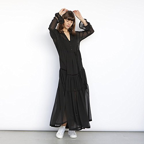 sheer maxi dress by Naftul