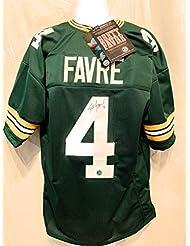 b483268e18c Brett Favre Green Bay Packers Signed Autograph Custom Jersey Green Brett  Favre Certified
