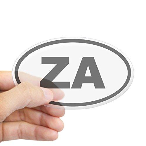 CafePress - South Africa ZA Sticker - Oval Bumper Sticker, Euro Oval Car - Africa South Specials